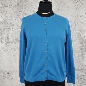 BODEN Blue Cardigan US XL